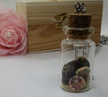 Miniature Cookie Jar Pendant